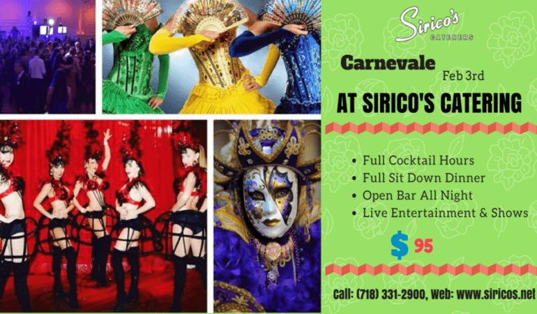 Carnevale Event 2018 in Brooklyn NY.
